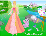 Barbie as rapunzel barbie j�t�kok ingyen