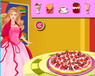 Barbie candy pizza j�t�k