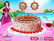 Barbie coconut cake deco barbie játékok