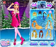 Barbie goes ice skating barbie játékok