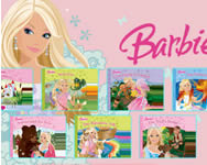 Barbie puzzle collections online játék