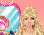 Barbies lovely hair care barbie játékok ingyen