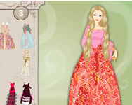 Dress up Barbie j�t�k