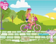 Barbie bike game ingyenes